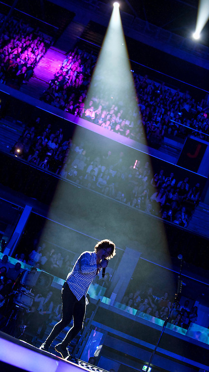 The Vamps in concert at The SSE Hydro, Glasgow, Scotland, Britain, 8th April 2016