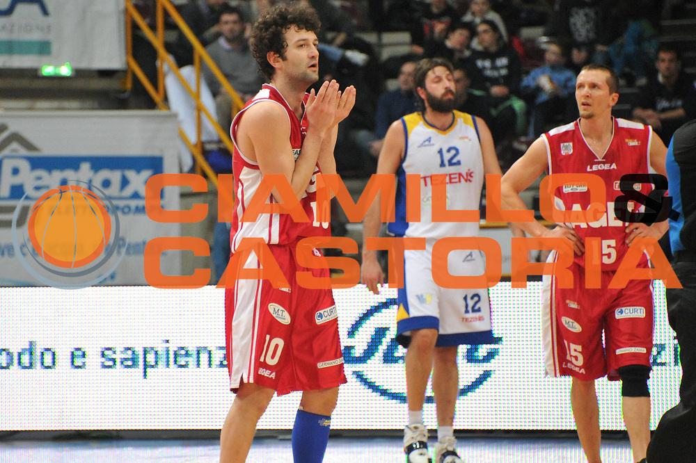 DESCRIZIONE : Verona Lega Basket A2 2010-11 Tezenis Verona Aget Imola<br /> GIOCATORE : Filippo Masoni<br /> SQUADRA : Tezenis Verona Aget Imola<br /> EVENTO : Campionato Lega A2 2010-2011<br /> GARA : Tezenis Verona Aget Imola<br /> DATA : 05/03/2011<br /> CATEGORIA : Delusione<br /> SPORT : Pallacanestro <br /> AUTORE : Agenzia Ciamillo-Castoria/M.Gregolin<br /> Galleria : Lega Basket A2 2010-2011 <br /> Fotonotizia : Verona Lega A2 2010-11 Tezenis Verona Aget Imola<br /> Predefinita :