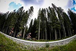 Cyclists compete at Sloveian Road Cycling Championship Time Trial 2020 Gorje - Pokljuka, on June 28, 2020 in Pokljuka, Slovenia. Photo by Matic Klansek Velej / Sportida