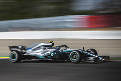 May 11, 2018 - Barcelona, Catalonia, Spain - VALTTERI BOTTAS (FIN) drives during the second practice session of the Spanish GP at Circuit de Catalunya in his Mercedes W09 EQ Power  (Credit Image: © Matthias Oesterle via ZUMA Wire)