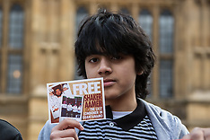 17 Mar. 2015 - Campaigners rally prior to Parliamentary debate on Shaker Aamer