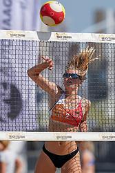 23-08-2019 NED; DELA NK Beach Volleyball Qualification, Scheveningen<br /> First day NK Beachvolleyball / Nadine Everaert