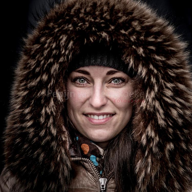 Nederland, groningen 20150115. Angelina Ilizina (29). Bezoeker ESNS festival . foto: Pepijn van den Broeke