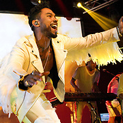 Singer Miguel performs to a packed South Side Music Hall on Saturday Night. (Special to the Star-Telegram/Rachel Parker)