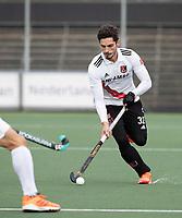AMSTELVEEN - Tanguy Cosyns (Adam)   tijdens  de hoofdklasse hockeywedstrijd Amsterdam-HC Rotterdam (7-1).    COPYRIGHT KOEN SUYK