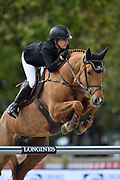 Laura Kraut riding Whitney during the Longines Paris Eiffel Jumping 2018, on July 5th to 7th, 2018 at the Champ de Mars in Paris, France - Photo Christophe Bricot / ProSportsImages / DPPI