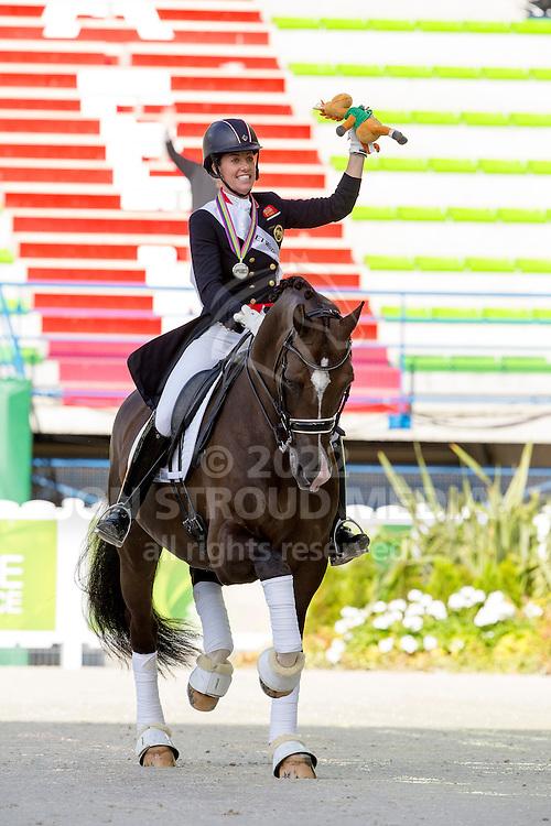 Charlotte Dujardin, (GBR), Valegro - Alltech FEI World Equestrian Games&trade; 2014 - Normandy, France.<br /> &copy; Hippo Foto Team - Leanjo de Koster<br /> 25/06/14