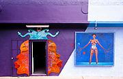 Haitian born artist Jude Papaloko's studio in Miami's Wynwood arts district