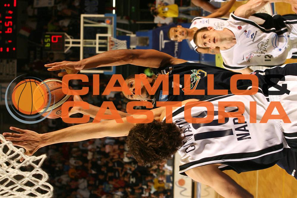 DESCRIZIONE : Napoli Lega A1 2005-06 Carpisa Napoli Upea Capo Orlando<br />GIOCATORE : Nnamaka<br />SQUADRA : Upea Capo Orlando<br />EVENTO : Campionato Lega A1 2005-2006<br />GARA : Carpisa Napoli Upea Capo Orando<br />DATA : 04/05/2006<br />CATEGORIA : Tiro<br />SPORT : Pallacanestro<br />AUTORE : Agenzia Ciamillo-Castoria/G.Ciamillo<br />Galleria : Lega Basket A1 2005-2006<br />Fotonotizia : Napoli Campionato Italiano Lega A1 2005-2006 Carpisa Napoli Upea Capo Orlando<br />Predefinita :