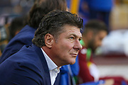 Walter Mazzarri during the Europa League play off leg 2 of 2 match between Wolverhampton Wanderers and Torino at Molineux, Wolverhampton, England on 29 August 2019.