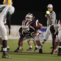 31 October, 2008:  St. Thomas Aquinas NG/G Cade Loper (#56) The St. Thomas Falcons recorded their first shut out of the season with a 41-0 shutout of the Southern Lab Kittens at Strawberry Stadium in Hammond, LA.