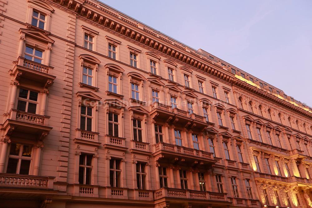 Vienna, Austria //Facade de l'hotel Sacher, Vienne, Autriche
