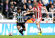 Newcastle United v Stoke City - 16 Sept 2017