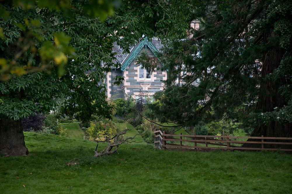 JK Rowling's country estate, Killiechasse, near the village of Aberfeldy in Scotland.