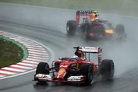 Fernando Alonso (ESP) Ferrari F14-T.<br /> Japanese Grand Prix, Sunday 5th October 2014. Suzuka, Japan.