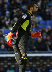 January 20, 2018 - Barcelona, Spain - Diego Lopez during the La Liga match between RCD Espanyol and Sevilla FC played in the RCDEstadium, in Barcelona, on January 20, 2018. Photo: Joan Valls/Urbanandsport/Nurphoto  (Credit Image: © Joan Valls/NurPhoto via ZUMA Press)
