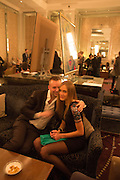 BARON ALEX KING; ANYA SINKEVICH, Cocktails with Marilyn, viewing of photographs of Marilyn Monroe by Bert Stern, Eve Arnold, Douglas Kirkland, and Frank Worth presented by Zebra One Gallery. The Langham, London.