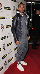 Kano attends Anti-Social - UK Film Premiere at Cineworld, Haymarket, London on Tuesday 28 April 2015,