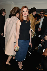 BONNIE WRIGHT at the Warner Music Group & Belvedere BRIT Awards After Party held at The Savoy, London on 19th February 2014.