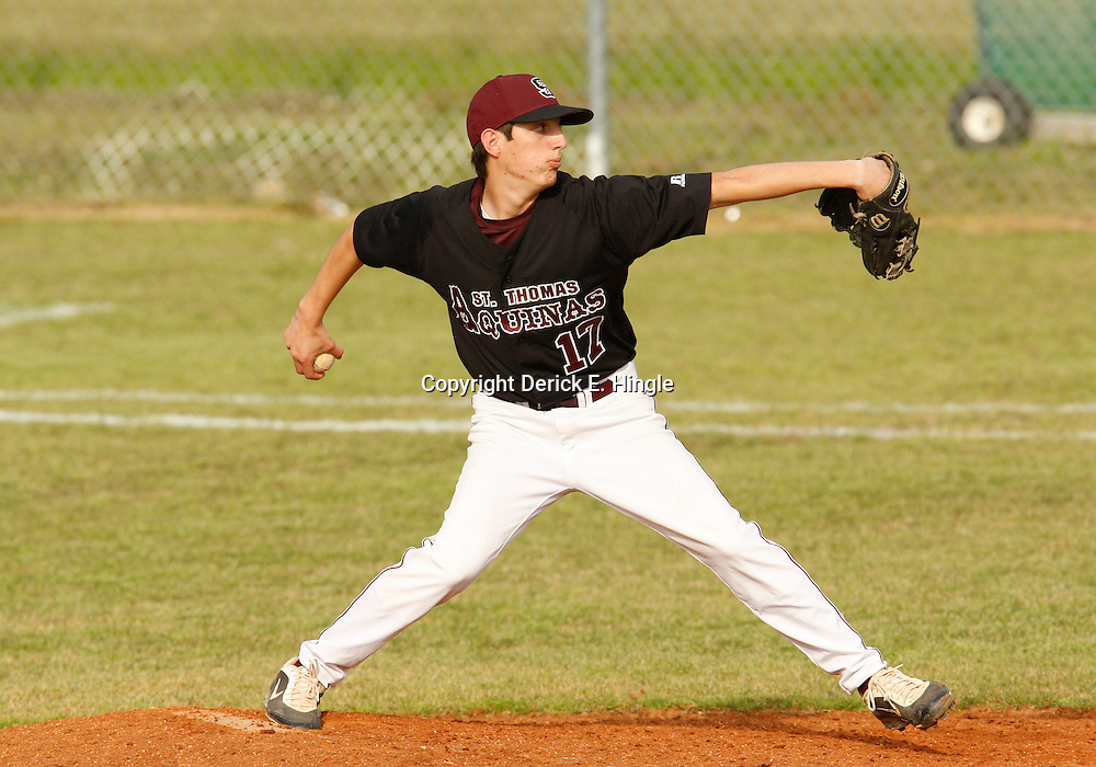 23 March 2009: during a 3-2 loss by St. Thomas Aquinas to Doyle at Falcon Field in Hammond, Louisiana.