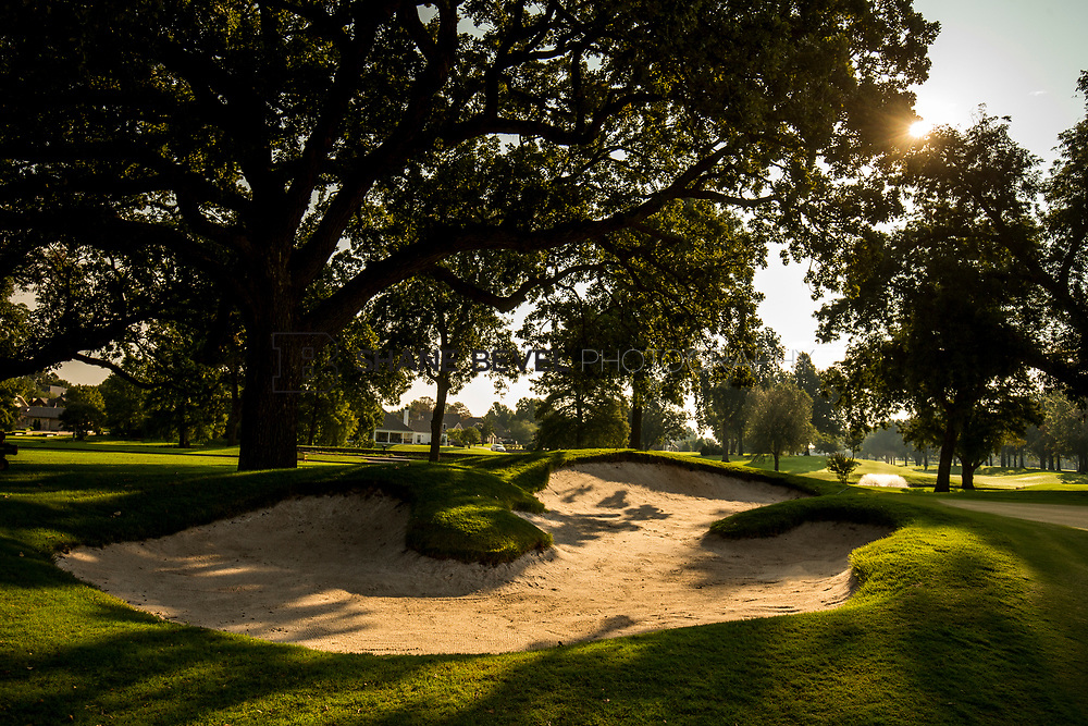 9/25/17 9:13:16 AM -- Bunkers and greens on Cedar Ridge Country Club for Jonesplan. <br /> <br /> Photo by Shane Bevel