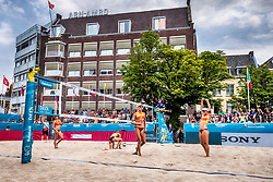 19-07-2018 NED: CEV DELA Beach Volleyball European Championship day 5<br /> Karla Borger #2 GER, Margareta Kozuch #1 GER