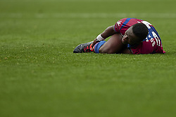 March 4, 2018 - Valencia, Valencia, Spain - Boateng of Levante UD reacts on the pitch during the La Liga match between Levante UD and RCD Espanyol at Ciutat de Valencia on March 4, 2018 in Valencia, Spain  (Credit Image: © David Aliaga/NurPhoto via ZUMA Press)