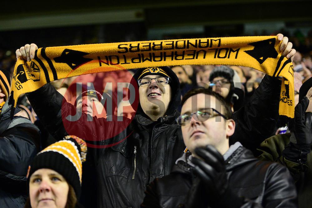 Wolverhampton Wanderers fans - Mandatory by-line: Dougie Allward/JMP - 14/01/2017 - FOOTBALL - Molineux - Wolverhampton, England - Wolverhampton Wanderers v Aston Villa - Sky Bet Championship