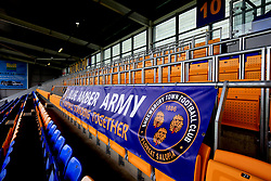 A general view of the new fan safe standing area before a pre season friendly match at Montgomery Waters Meadow, Shrewsbury.