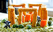 "Stonehenge for ""fish is the dish'"