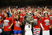 The Kennel Club in the Kennel cheering on the Zags