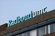 Nederland, Nijmegen, 6-10-2015Ingang gebouw umc radboud, umcn, academisch, radboudumc, universitair ziekenhuis.Foto: Flip Franssen/Hollandse Hoogte