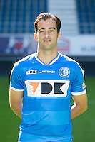 Gent's Rafael Scapini de Almeida pictured during the 2015-2016 season photo shoot of Belgian first league soccer team KAA Gent, Saturday 11 July 2015 in Gent.