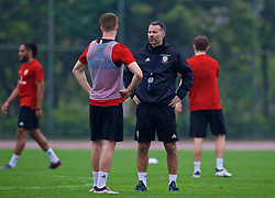 NANNING, CHINA - Saturday, March 24, 2018: Wales' new manager Ryan Giggs during a training session at the Guangxi Sports Centre ahead of the 2018 Gree China Cup International Football Championship final match against Uruguay. (Pic by David Rawcliffe/Propaganda)