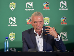 SOUTH AFRICA: JOHANNESBURG: Kaizer Chiefs coach Ernst Middendorp speak during the Nedbank cup press conference, Gauteng.<br /> Picture: Itumeleng English/African News Agency(ANA)<br /> 23.01.2019