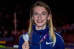 04-03-2018 GBR: World Indoor Championships Athletics day 4, Birmingham<br /> Anzhelika Sidorova RUS, silver Pole Vault