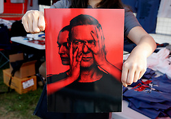 A general view of Bryan Adams featuring on the back cover of the event programme - Mandatory by-line: Matt McNulty/JMP - 14/07/2017 - Sixways Stadium - Worcester, England