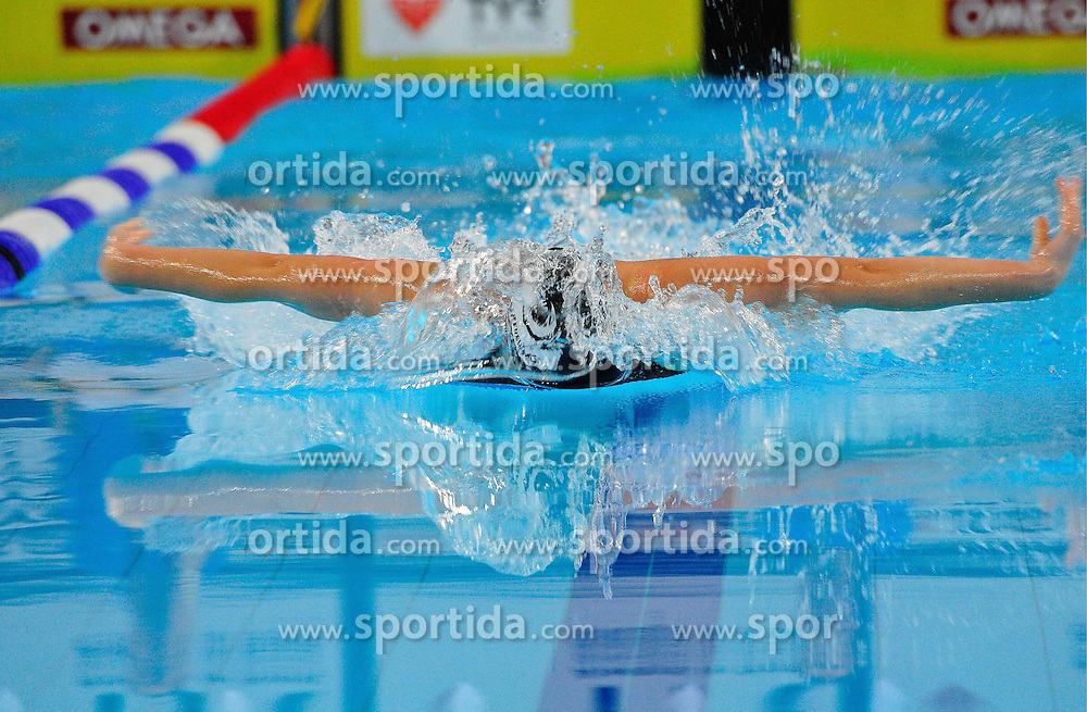 12.11.2010, Schwimmoper, Wuppertal, GER, Deutsche Kurzbahn-Meisterschaft im Bild zeigt die Schmetterlingdisziplin ihre besondere Art des Schwimmens.. EXPA Pictures © 2010, PhotoCredit: EXPA/ nph/  Freund+++++ ATTENTION - OUT OF GER +++++