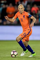 09.06.2017, De Kuip Stadium, Rotterdam, NED, FIFA WM 2018 Qualifikation, Niederlande vs Luxemburg, Gruppe A, im Bild Arjen Robben of Netherlands // Arjen Robben of Netherlands during the FIFA World Cup 2018, group A qualifying match between Netherlands and Luxemburg at the De Kuip Stadium in Rotterdam, Netherlands on 2017/06/09. EXPA Pictures © 2017, PhotoCredit: EXPA/ Focus Images/ Joep Joseph Leenen<br /> <br /> *****ATTENTION - for AUT, GER, FRA, ITA, SUI, POL, CRO, SLO only*****