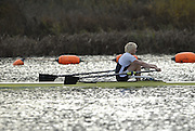 Caversham, Nr Reading, GREAT BRITAIN, Andy TWRIGGS-HODGE, BIRO Sculling Test, invited scullers, under go a time trial and then a six abreast race over 2000 meters at the British International Rowing complex at Caversham Lake, on Wed 22.11. 2006. [Photo, Peter Spurrier/Intersport-images]. Rowing course: GB Rowing Training Complex, Redgrave Pinsent Lake, Caversham, Reading