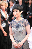 Zhao Tao attending the gala screening of The Great Gatsby at the Cannes Film Festival on 15th May 2013, Cannes, France.