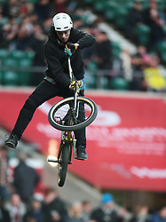 December 27, 2016 - London, England, United Kingdom - Extreme sport prior to the Aviva Premiership Rugby Big Game 9 match between Harlequins and Gloucester Rugby at The Twickenham Stadium, London on 27 Dec 2016  (Credit Image: © Kieran Galvin/NurPhoto via ZUMA Press)
