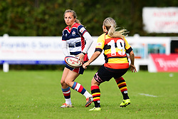 Poppy Cleall of Bristol Ladies in action - Mandatory by-line: Craig Thomas/JMP - 17/09/2017 - Rugby - Cleve Rugby Ground  - Bristol, England - Bristol Ladies  v Richmond Ladies - Women's Premier 15s