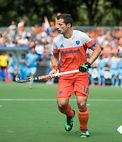 WAALWIJK -  RABO SUPER SERIE. Sander Baart (Ned)   tijdens  de hockeyinterland heren  Nederland-India,  ter voorbereiding van het EK,  dat vrijdag 18/8 begint.  COPYRIGHT KOEN SUYK