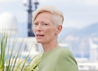 Actress Tilda Swinton at the Okja film photo call at the 70th Cannes Film Festival Friday 19th May 2017, Cannes, France. Photo credit: Doreen Kennedy