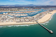 Aerial Stock Photos Of Newport Beach Pier