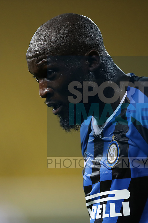 Inter's Belgian striker Romelu Lukaku during the Serie A match at Stadio Ennio Tardini, Parma. Picture date: 28th June 2020. Picture credit should read: Jonathan Moscrop/Sportimage