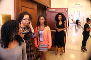 New York, NY-July 30: (Center) Beverly Bond, Founder Black Girls Rock!attends the Inaugural Black Girls LEAD Conference held at Barnard College at Columbia University on July 30, 2015 in New York City.  (Photo by Terrence Jennings/terrencejennings.com)