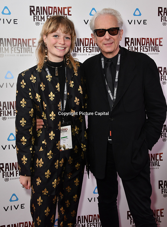 Chessie Lamb and Elliot Grove Nominated attends the Raindance Film Festival - VR Awards, London, UK. 6 October 2018.