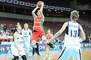 DESCRIZIONE : Riga Latvia Lettonia Eurobasket Women 2009 Quarter Final Slovacchia Bielorussia Slovak Republic Belarus <br /> GIOCATORE : Katsiaryna Snytsina<br /> SQUADRA : Bielorussia Belarus<br /> EVENTO : Eurobasket Women 2009 Campionati Europei Donne 2009 <br /> GARA : Slovacchia Bielorussia Slovak Republic Belarus <br /> DATA : 17/06/2009 <br /> CATEGORIA : super tiro<br /> SPORT : Pallacanestro <br /> AUTORE : Agenzia Ciamillo-Castoria/M.Marchi<br /> Galleria : Eurobasket Women 2009 <br /> Fotonotizia : Riga Latvia Lettonia Eurobasket Women 2009 Quarter Final Slovacchia Bielorussia Slovak Republic Belarus <br /> Predefinita :
